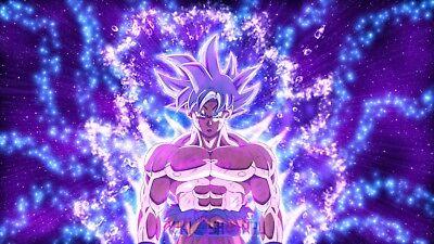 Poster 42x24 cm Dragon Ball Super Goku Doctrina Egoista Ultra Instinct 23