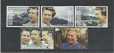 Georgia del Sud & S, S/ISOLA 1992 40TH ANNIV Queens accessibile U/M SG, 209-213 LOTTO 3305A