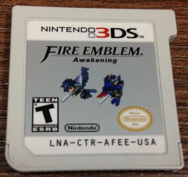 Fire Emblem: Awakening 3DS Cart Only Works Great AUTHENTIC