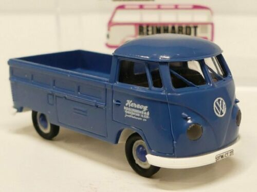 1//87 Brekina # 2089 VW T1 b Herzog Maschinenbau NK Sondermodell Reinhardt ...