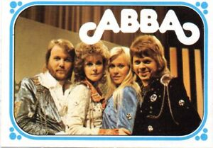 7-Trade-CardMonty-gum-Singing-group-Abba-1-card-from-a-set-of-50-issued-1976