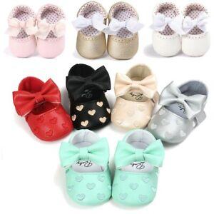 Newborn-Baby-Infant-Girl-Crib-Pram-Shoes-Soft-Sole-Prewalkers-Anti-slip-Sneakers
