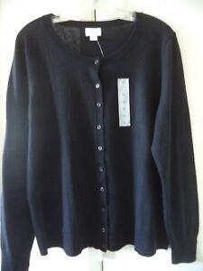 Old Navy White Buttonless Cardigan Open Front Sweater XXL 18 20 2X Nice Basic