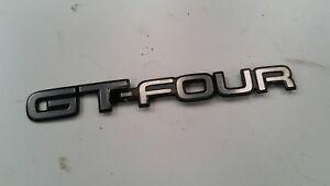 Veritable-Jdm-Toyota-Celica-ST205-Arriere-Gt-Four-Embleme-Logo-75444-2B330-94-99