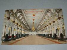 Early 1900's HABANA HAVANA Cuba Postcard, Clerk Association Hall, interior view