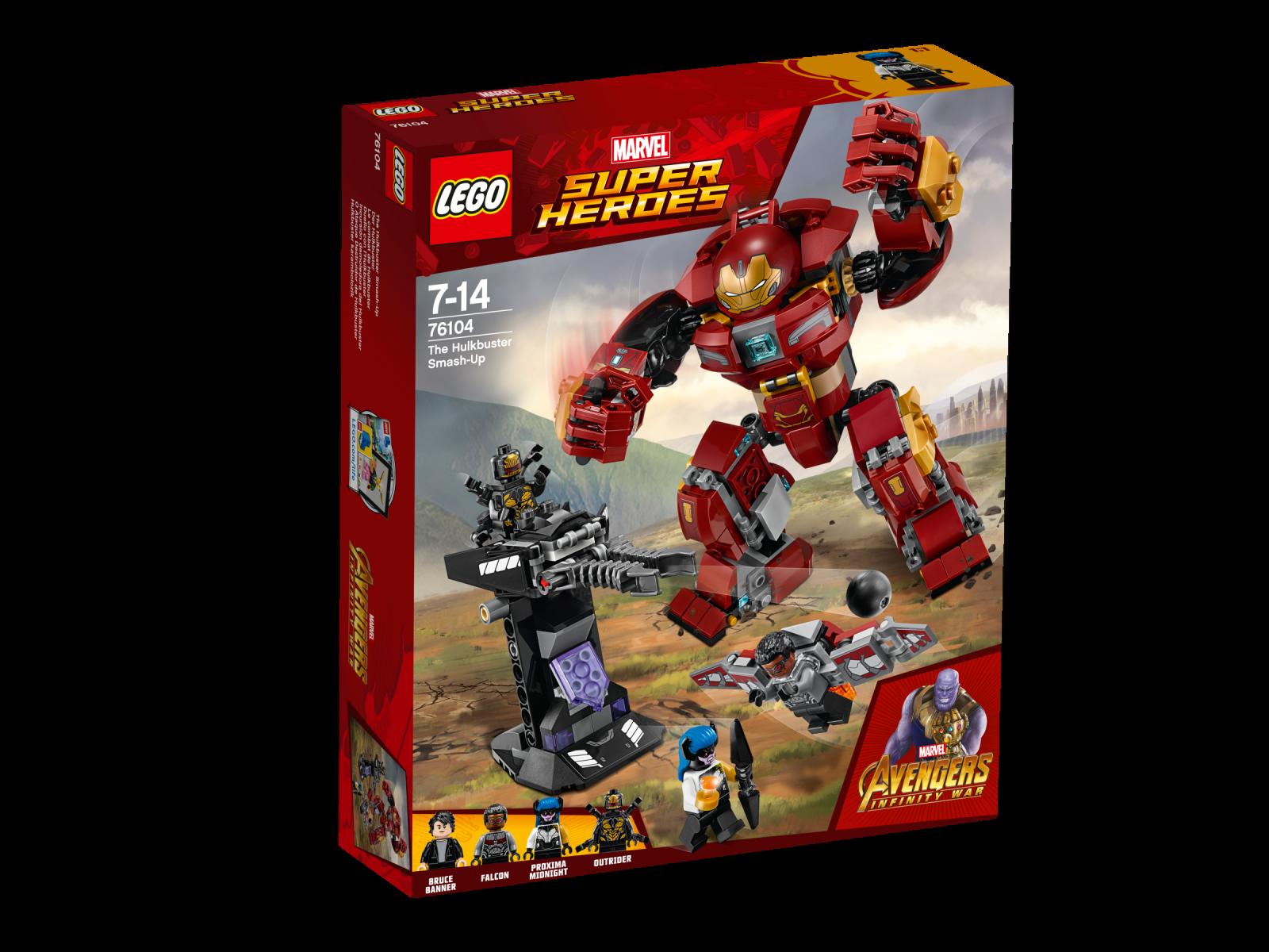 LEGO® LEGO® LEGO® Marvel Super Heroes 76104 Der Hulkbuster NEU OVP_ NEW MISB NRFB c61745