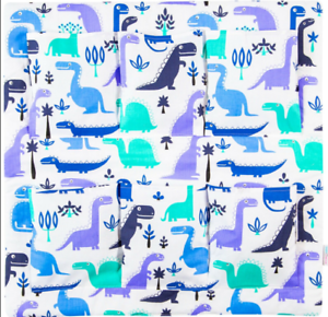 Nursery Hanging Storage 6 poches COT TIDY ORGANISATEUR Dino Bleu
