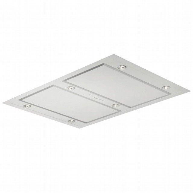 Emhætte, Silverline Matrix Roof 120 cm, hvid