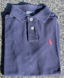 Blue About Polo ShirtSize Used Details 7 8Us6 Uk Yrs Lauren Navy S Child Ralph CsrxthQd