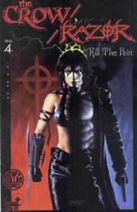 Crow Razor Kill the Pain 4 Everette Hartsoe Jerry Beck James O'Barr Bad Girl NM