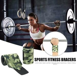1-Pair-Camouflage-Wrist-Support-Brace-Fitness-Wristbands-Crossfit-Protection