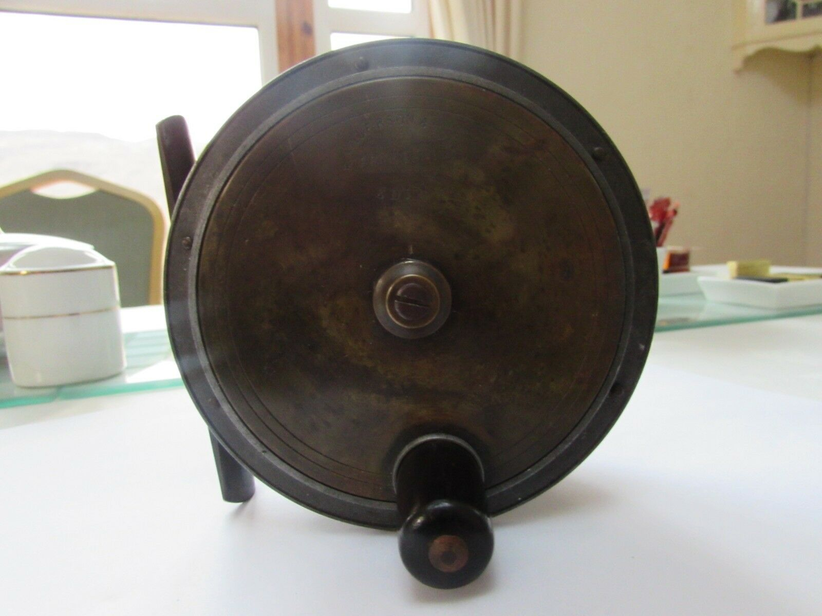 Vintage rare anderson hercules heatons coinbrake salmon  fly fishing reel 4.25   wholesale cheap and high quality
