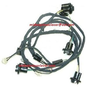 rear body tail light trunk wiring harness 69 chevy camaro z 28 ss ebay. Black Bedroom Furniture Sets. Home Design Ideas