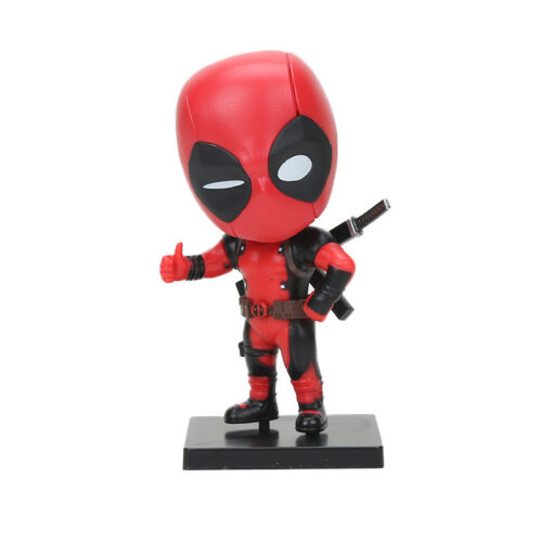 3.9 in Deadpool action figure model funny toy MARVEL Superhero doll 10 cm