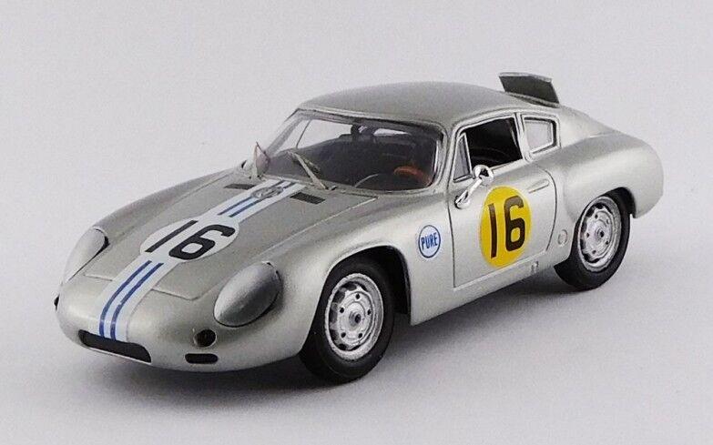 Best MODEL 9689 - Porsche 356 B Abarth 1er 3 Hrs Daytona - 1963 3 1 43