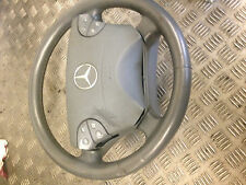 2001 W211 MERCEDES BENZ ESTATE E320 CDI MULTI FUNCTIONAL LEATHER STEERING WHEEL