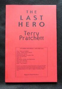 THE LAST HERO Terry Pratchett US UNCORRECTED PROOF / ARC 1st ED Discworld