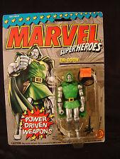 Dr. Doom action figure Toy Biz Marvel super heroes 1993 comic book toy NOS art