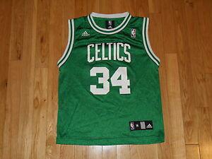 Image Is Loading Adidas Paul Pierce Green Boston Celtics Youth Nba