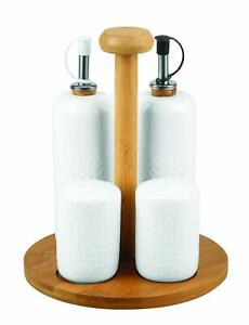 5-Pcs-Porcelain-Set-with-Wooden-Stand-for-Olive-Oil-Vinegar-Salt-Pepper