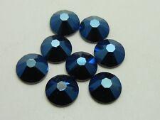 30ss METALLIC BLUE Swarovski rhinestones 18pcs
