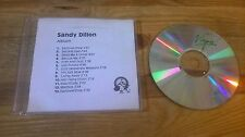 CD Indie Sandy Dillon - Same / Untitled (13 Song) Promo ONE LITTLE INDIAN sc