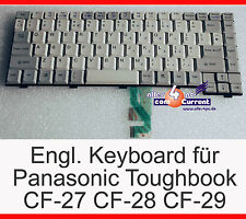 CLAVIER POUR PANASONIC TOUGHBOOK CF-27 CF-28 CF-29 ROYAUME-UNI ANGLAIS