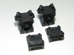 HB204580 HB RACING D819RS NITRO BUGGY FRONT REAR DIFF GEAR BOX BULKHEADS