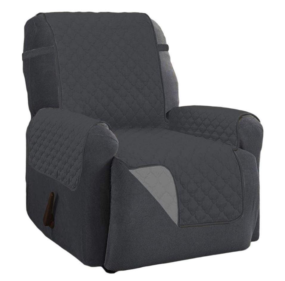 Strange Recliner Chair Arm Cover Lazy Boy Dog Furniture Reversible Microfiber Protector Ibusinesslaw Wood Chair Design Ideas Ibusinesslaworg
