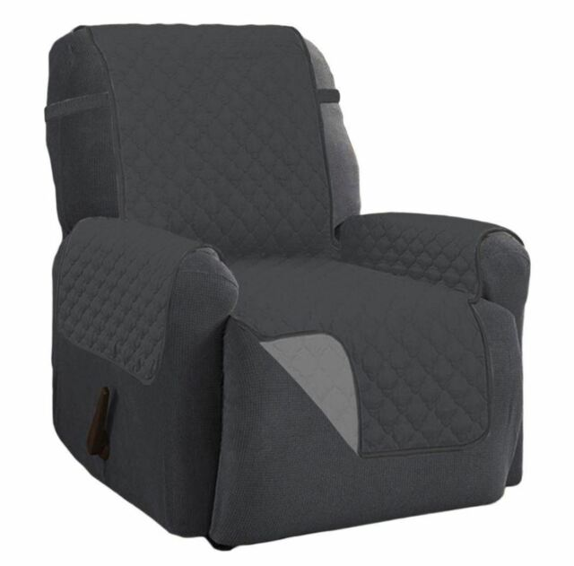 Brilliant Recliner Chair Arm Cover Lazy Boy Dog Furniture Reversible Microfiber Protector Ibusinesslaw Wood Chair Design Ideas Ibusinesslaworg