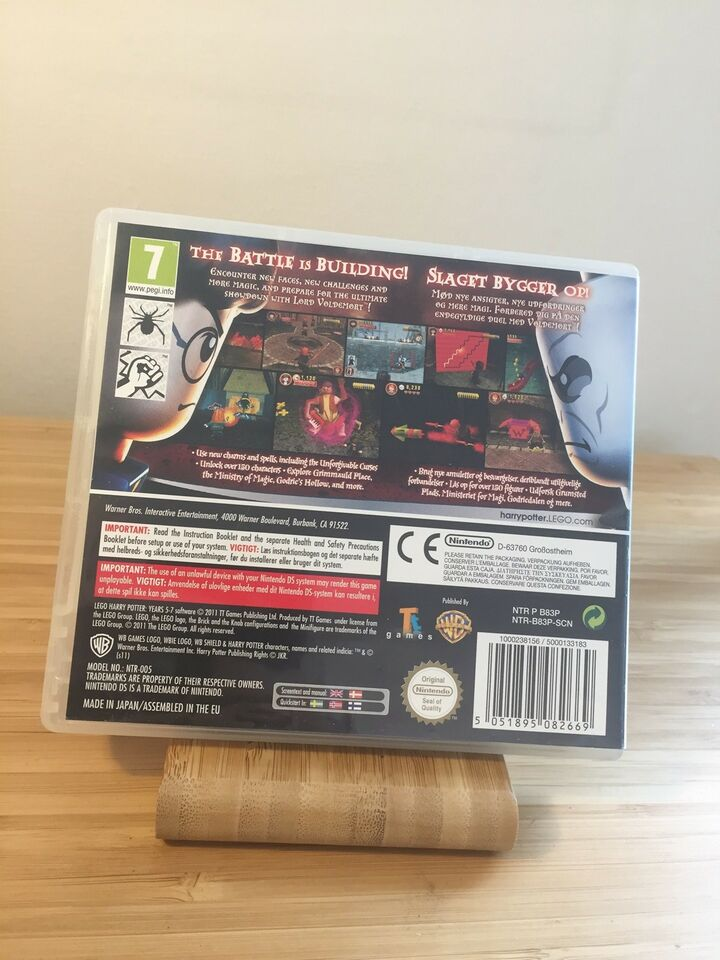 Lego Harry Potter - Years 5-7, Nintendo DS, rollespil