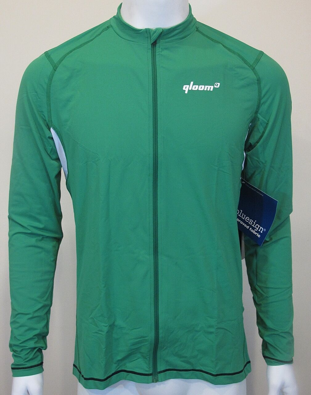 QLOOM BYRON Long Sleeves Training apparel Man Green Cycling Jerseys