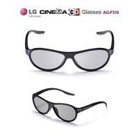 LG CINEMA 3D Passive GLASSES AG-F310 1 PAIR PER BOX NEW LOT 6 TV Accessories