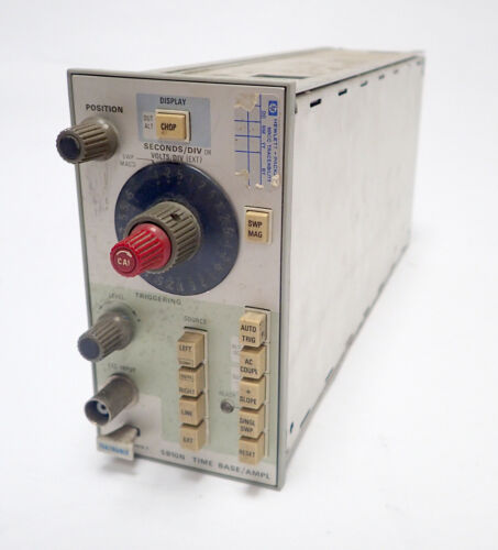 Details about  /TEKTRONIX 5B10N TIME BASE PLUG IN 0.1μs-5s//div for 5000 SERIES SCOPES AS-IS