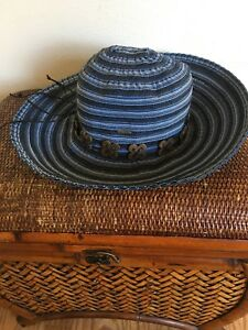 083099994f0f5 Image is loading Karen-Keith-Hat-Wide-Brim-Blue-Sun-Hat