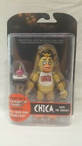 2016-FUNKO-POP-FIVE-NIGHTS-AT-FREDDY-039-S-034-CHICA-034-ARTICULATED-ACTION-FIGURE-NEW