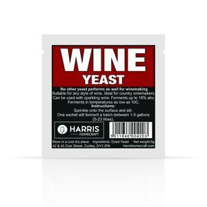Harris Homecraft Premim Wine Yeast 5g
