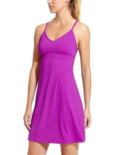 Athleta Shorebreak Swim Dress, Regal Purple, Sz XS, X Small, New