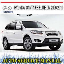 hyundai santa fe 2001 2009 haynes owners service repair manual rh ebay com au 2008 Hyundai Santa Fe 2009 hyundai santa fe owners manual pdf