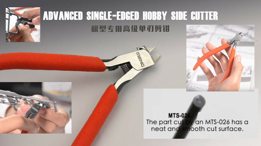 Meng Models Advanced Single-edged Hobby Side Cutter