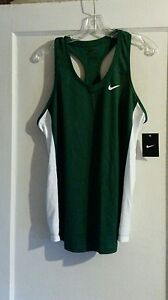 917793bdc0ea Women s Nike Running Singlet Green White Size XL New With Tag