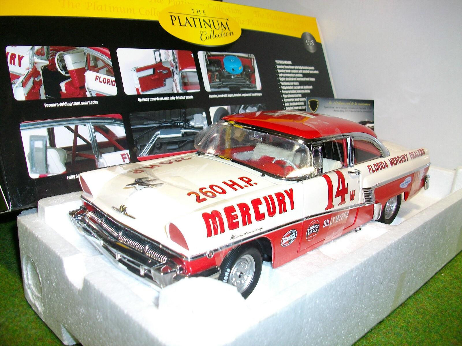MERCURY MONTEREY 1956 HARD TOP RACING CAR 1 18 voiture Nascar SUN STAR 5147 FORD