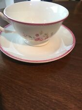 Vintage Rose Whittard Of Chelsea Tea Cup And Saucer Set, Made In England