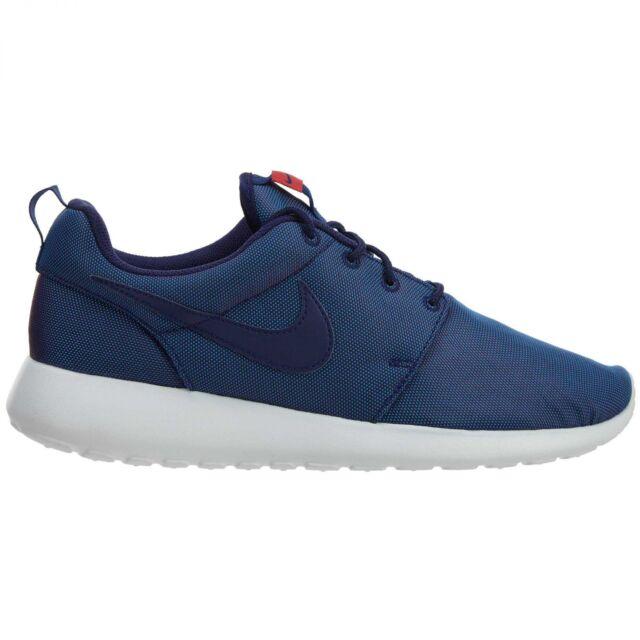 new style 75f7f 35ef2 Nike Roshe One Premium Mens 525234-442 Loyal Blue Mesh Running Shoes Size  10 for sale online  eBay
