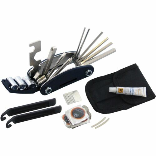 S1810 Am-tech Bicycle Repair Tool and Puncture Kit