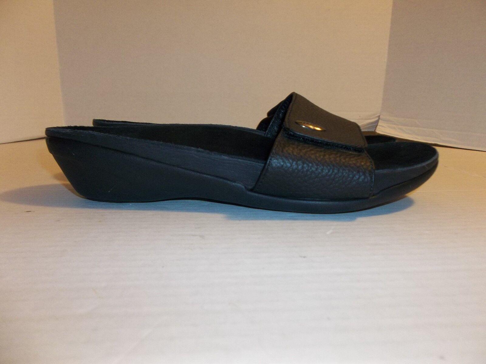 Womens 8/9 Size 8/9 Womens Bandals Black Slide Sandals 56a1da