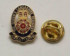 Queens Lancashire Regiment Lapel QLR Military Badge