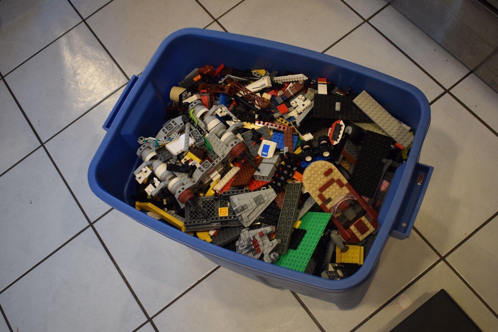 30 libra Lote enorme Legos De Star Wars Harry Potter agentes City Conjunto de envío suelta de ladrillo