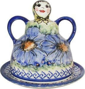 Boleslawiec Polish Pottery Deviled Egg Serving Plate Evas Collection Isabelle