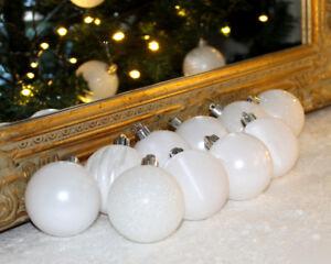 Baumkugeln Weiß